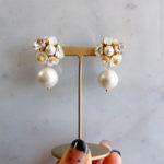 白蝶貝とパールのアクセサリー